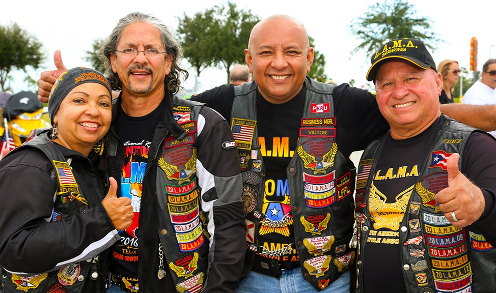Latin American Motorcycle Association Members