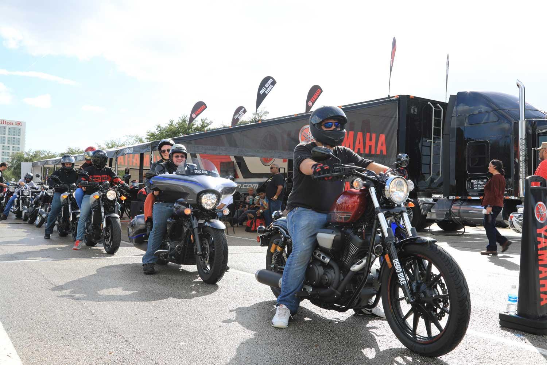 Yamaha Demo Rides at AIMExpo