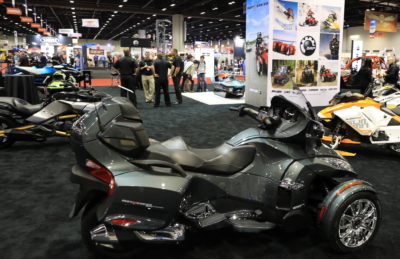 Can-Am Spyder at AIMExpo