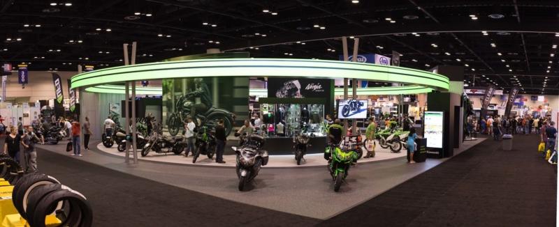 Kawasaki Show Booth