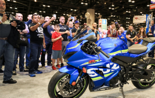 Suzuki GSXR Reveal at AIMExpo