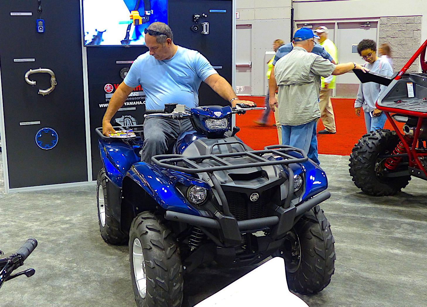 Yamaha ATV Display at AIMExpo