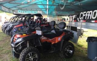 CFMOTO ATVs on Display