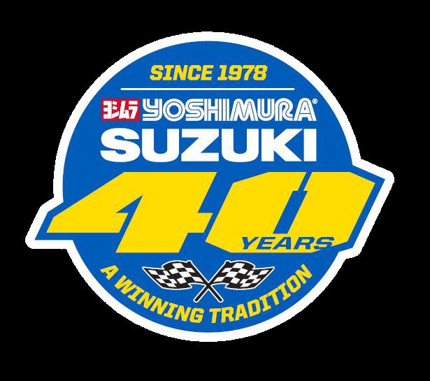 2018 Yoshimura Suzuki Racing Badge - A Winning Tradition
