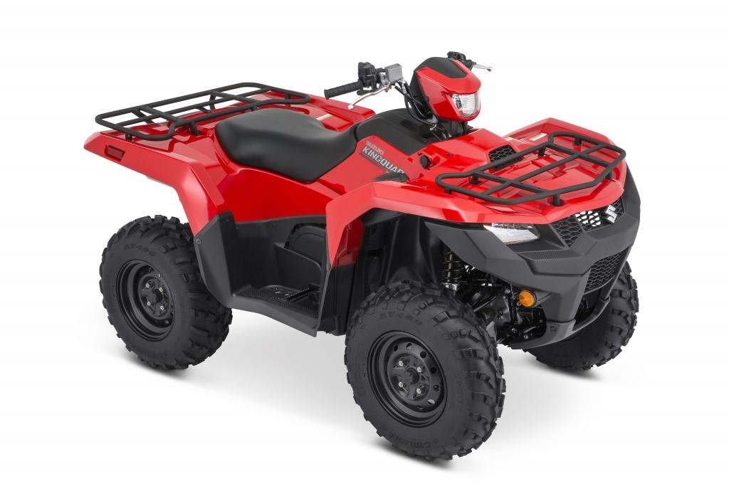 Suzuki KingQuad ATV Red