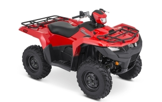 Suzuki KingQuad ATV Red