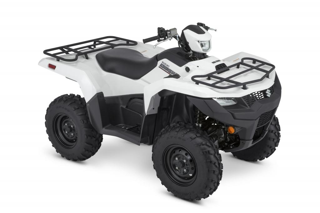 Suzuki KingQuad ATV White