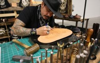 Leatherwork at AIMExpo