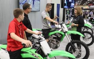 Kawasaki KX at AIMExpo