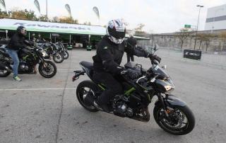 Kawasaki Z Demo Ride at AIMExpo