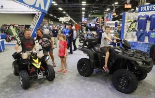 Suzuki ATVs at AIMExpo