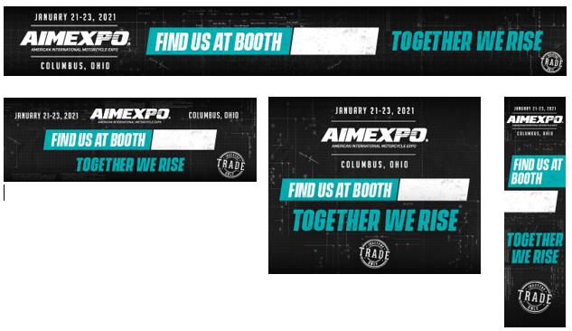 AIMExpo 2021 Digital Banners